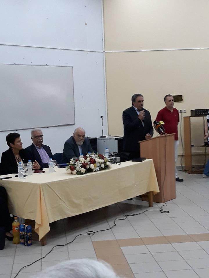 Ο Υπουργός Παιδείας Κώστας Γαβρόγλου στα Ψαχνά (φωτό) 36338126 1686667471453671 3642522645175468032 n