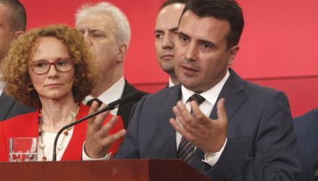 Ζάεφ:Έλληνες επιχειρηματίες πλήρωσαν Σκοπιανούς υποκινώντας βίαια επεισόδια