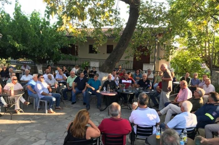 O Yπουργός Βαγγέλης Αποστόλου στο Κοντοδεσπότι:Πως θα δοθούν οι αγροτικές αποζημιώσεις στους πληγέντες