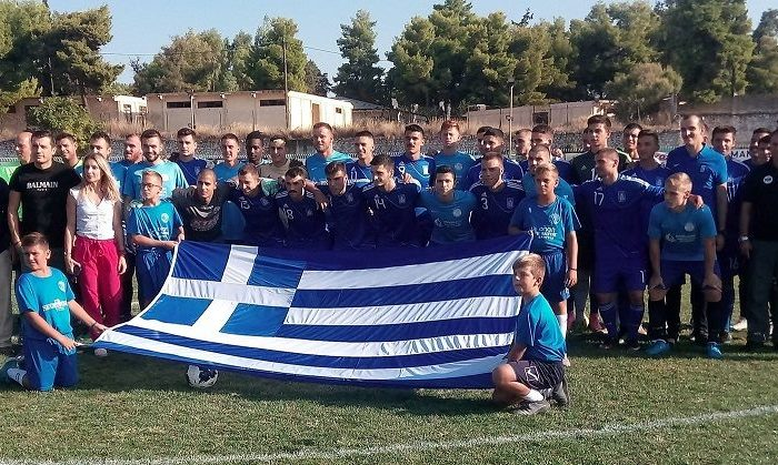 Φιλανθρωπικός αγώνας ποδοσφαίρου Απόλλων Ερέτριας-Εθνική ενόπλων Ελλάδας 0-3 (φωτογραφίες)