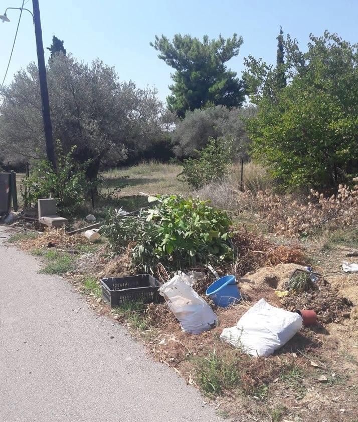 Πολιτικά: Οι κάτοικοι παραπονιούνται ότι ο Δήμος αργεί να μαζέψει τα σκουπίδια 444 1