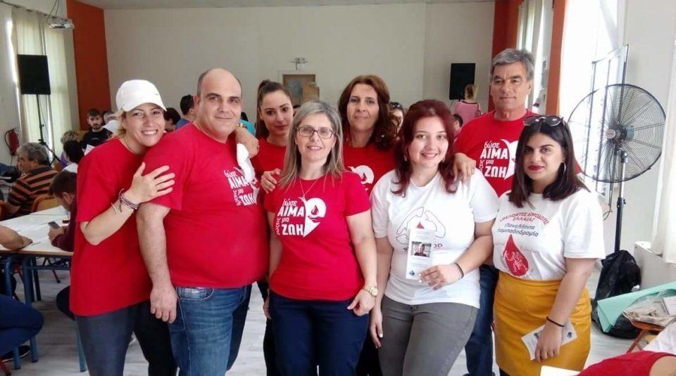 7η εθελοντική αιμοδοσία Δήμου Διρφύων Μεσσαπίων (Κυριακή 14 Οκτωβρίου Γυμνάσιο Ψαχνών)