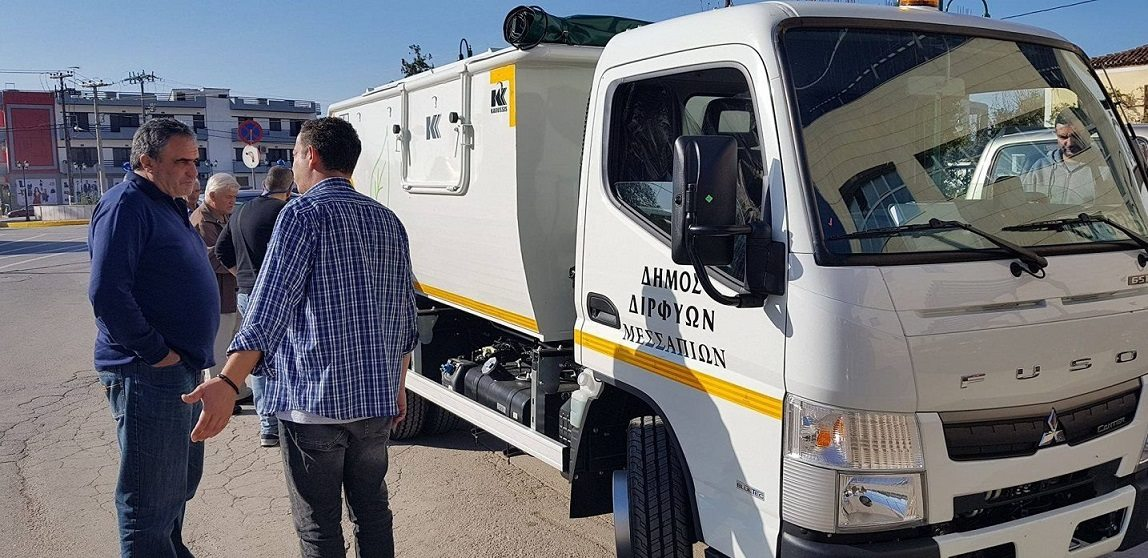 Νέο απορριμματοφόρο αξίας 80.000 ευρώ  αγόρασε ο Δήμος Διρφύων Μεσσαπίων 21