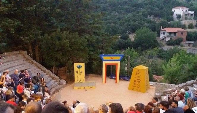 «Το θέατρο της Σέττας  και η πολιτιστική αφασία των Ψαχνών» 36564939 2027347037525509 6656393620179910656 n