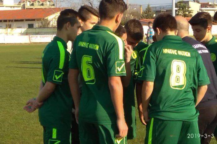 Πρωτάθλημα νέων: Ηρακλής Ψαχνών-Ιστιαία 0-0 (φωτό)