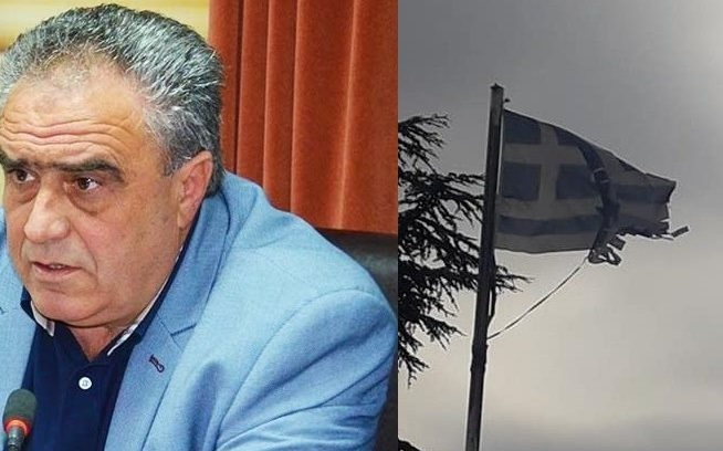 Παρέμβαση Δημάρχου για το θέμα της σημαίας στο ΤΕΙ: «Έχουμε ζητήσει εδώ και τρεις ημέρες την αποκατάστασή της κάτι το οποίο δεν έγινε και το φροντίζει σήμερα ο Δήμος»