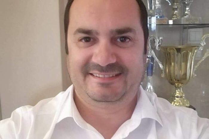 Ο Γιώργος Σταύρου Υποψήφιος Δημοτικός σύμβουλος με τον συνδυασμό του Ανδρέα Κουλοχέρη