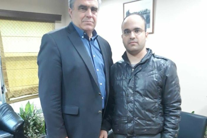 Ο Σπύρος Κιαπέκος Υποψήφιος Δημοτικός σύμβουλος με τον συνδυασμό του Γιώργου Ψαθά
