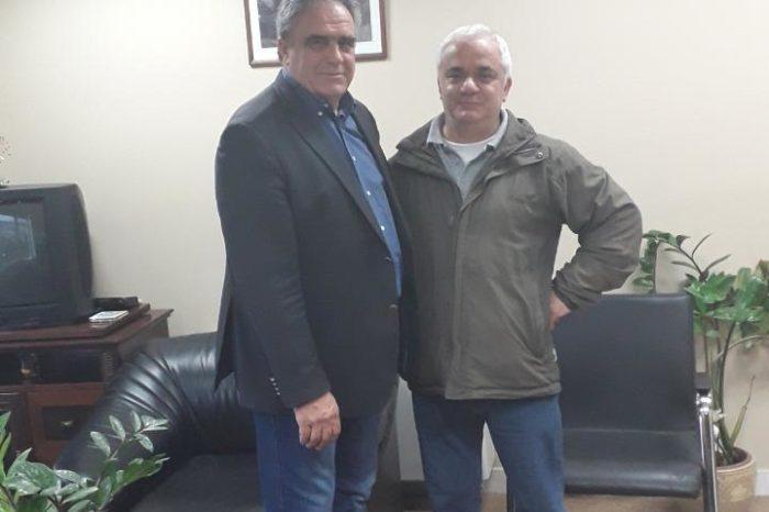 Ο Κώστας Στούπας Υποψήφιος Δημοτικός σύμβουλος ξανά με τον συνδυασμό του Γιώργου Ψαθά