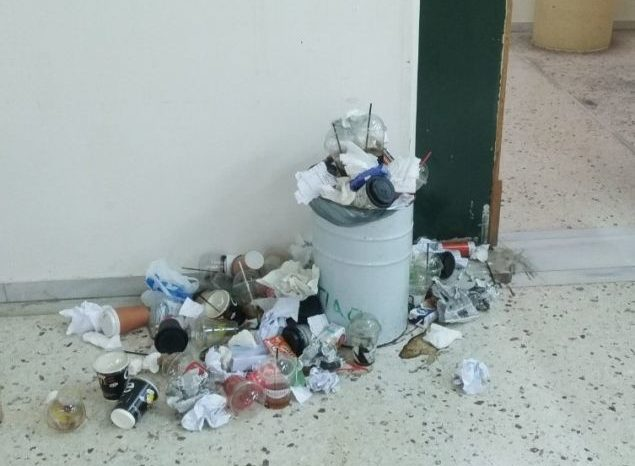Εικόνες ντροπής στις εστίες του ΤΕΙ Χαλκίδας: Απειλείται η υγεία και η ασφάλεια των φοιτητών του ΤΕΙ  (φωτό-video)