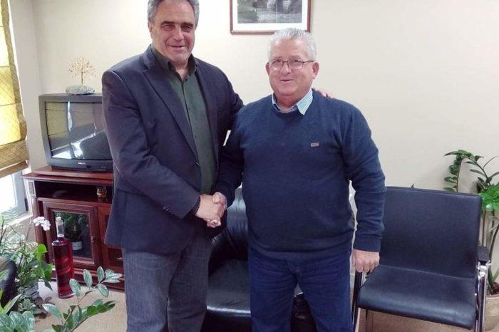 Ο Θανάσης Βλάχος Υποψήφιος Δημοτικός σύμβουλος με τον συνδυασμό του Γιώργου Ψαθά