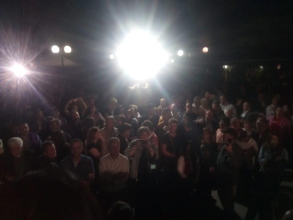 «Μήνυμα νίκης»  στα εγκαίνια της Τζοβάννας Γκόγκου στην πλατεία των Ψαχνών (φωτογραφίες) 13