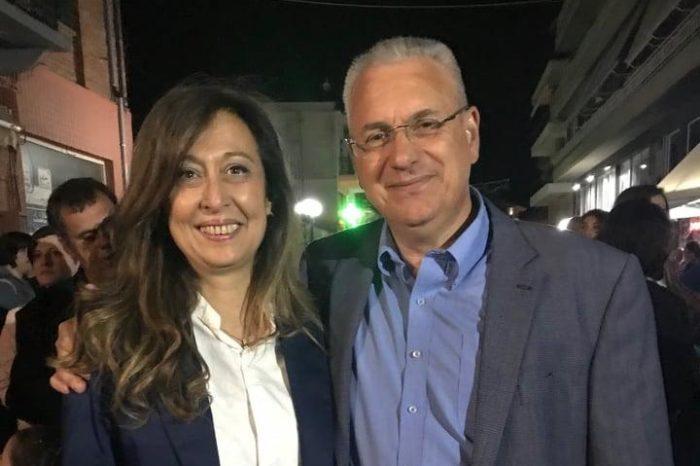 Στα εγκαίνια του εκλογικού γραφείου «Βήμα στο αύριο» ο Κώστας Μαρκόπουλος