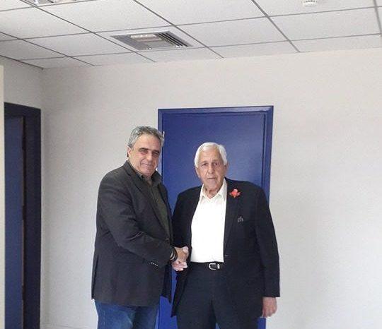 Ο Νίκος Κιαπέκος Υποψήφιος Δημοτικός σύμβουλος με τον συνδυασμό του Γιώργου Ψαθά