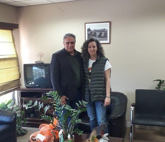 Η Ιουλία Λάζαρη Υποψήφια τοπική σύμβουλος με τον συνδυασμό του Γιώργου Ψαθά