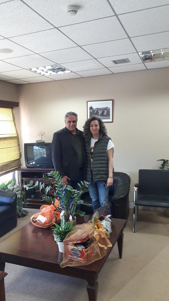 Η Ιουλία Λάζαρη Υποψήφια τοπική σύμβουλος με τον συνδυασμό του Γιώργου Ψαθά 33