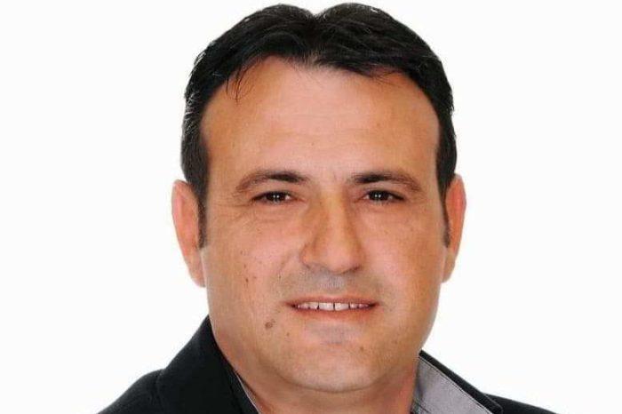 Ο ΘανάσηςΔούδαλης Υποψήφιος Δημοτικός σύμβουλος με τον συνδυασμό του Ανδρέα Κουλοχέρη