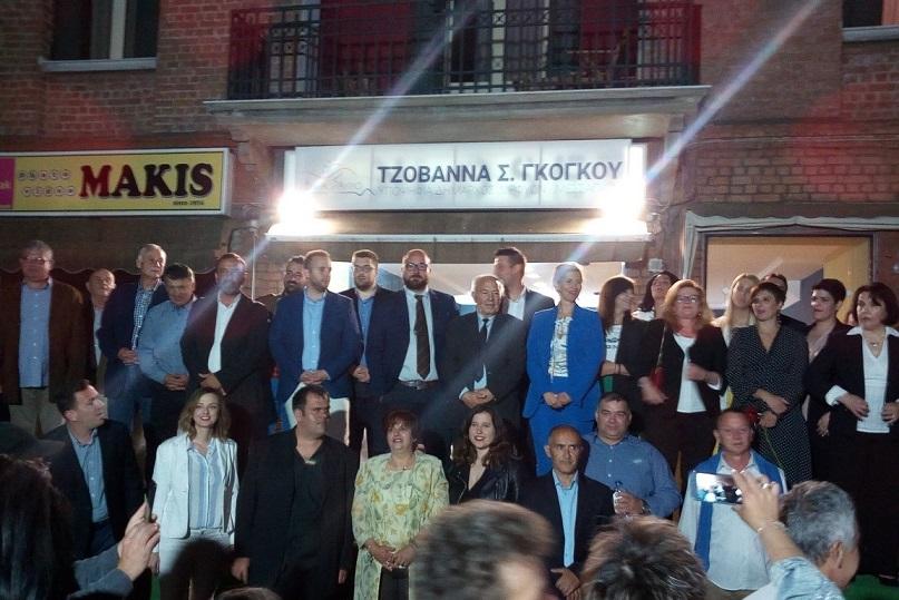 «Μήνυμα νίκης»  στα εγκαίνια της Τζοβάννας Γκόγκου στην πλατεία των Ψαχνών (φωτογραφίες) 60573866 2614852751877488 1561389236807008256 o