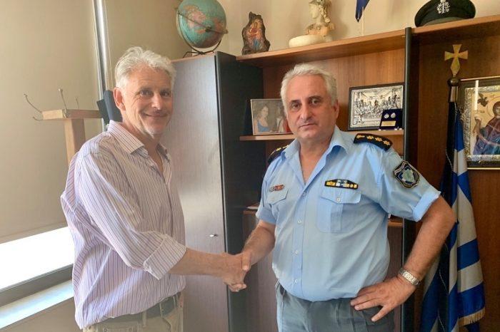 Επίσκεψη του Υποψήφιου Βουλευτή Ευβοίας Σπύρου Πνευματικού στην Αστυνομική Διεύθυνση Ευβοίας
