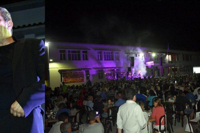 Με επιτυχία η λαική βραδιά  Αδαμαντίδη στα Ψαχνά (φωτογραφίες)