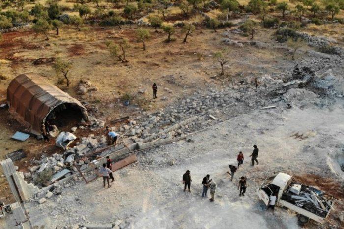 Θάνατος Μπαγκντάντι: Ερείπια στην περιοχή της επιχείρησης για την εξόντωση του αρχηγού του ISIS