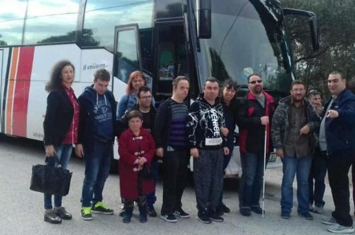 Τους Αγίους Αναργύρους επισκέφθηκαν τα μέλη της ομάδας Δημιουργικής απασχόλησης