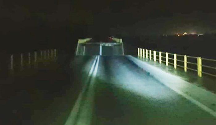 Κατέρρευσε γέφυρα στη Ρόδο - ΦΩΤΟ