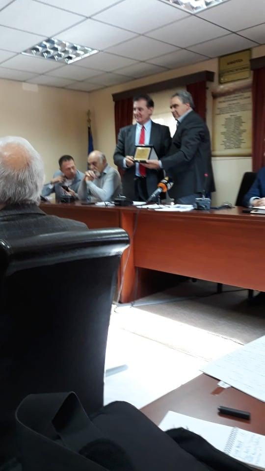 Ο Πρύτανης του ΕΚΠΑ σε σύσκεψη στο Δημαρχείο των Ψαχνών 78828743 553954418716041 3083396758835822592 n