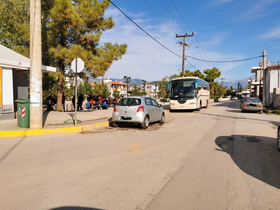 Άλλαξαν χώρο σταύθμευσης τα λεωφορεία του ΚΤΕΛ Ευβοίας 1 4