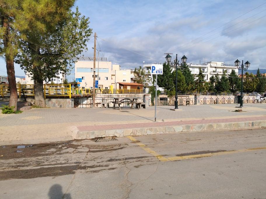 Άλλαξαν χώρο σταύθμευσης τα λεωφορεία του ΚΤΕΛ Ευβοίας 2 1