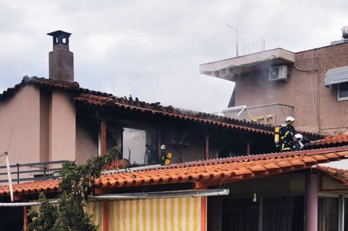 Φωτιά σε σπίτι στην Έξω Παναγίτσα