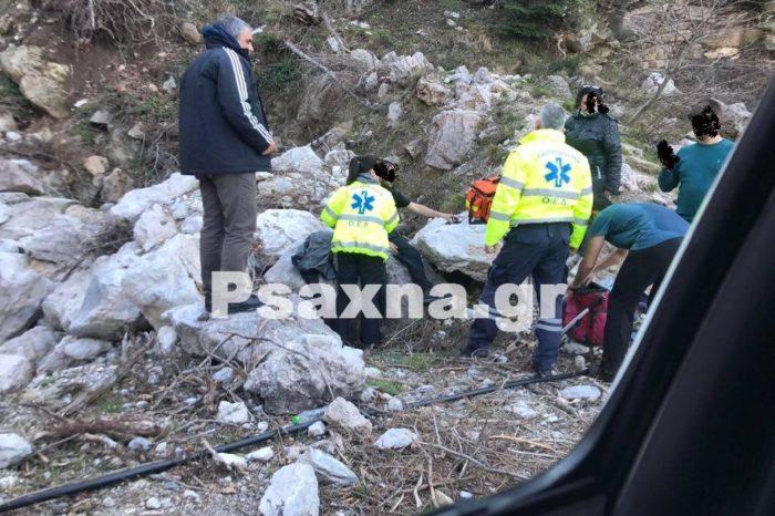 Νεκρός ο 22χρονος ορειβάτης που έπεσε σε χαράδρα στην Δίρφυ