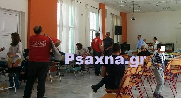 Δημήτρης Γιαννούτσος:«Όσοι θέλουν να δώσουν αίμα μπορούν την Κυριακή στο Μέγαρο  Περιφερειακής Ενότητας  Ευβοίας στην Χαλκίδα»
