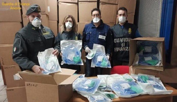Ανκόνα: Κατασχέθηκαν ιατρικοί αναπνευστήρες με προορισμό την Ελλάδα - ΦΩΤΟ