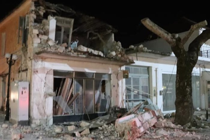 Σεισμός 5,6 Ρίχτερ στην Πάργα: Τρεις τραυματίες - Τουλάχιστον 10 σπίτια κατεστραμμένα - Δείτε φωτογραφίες