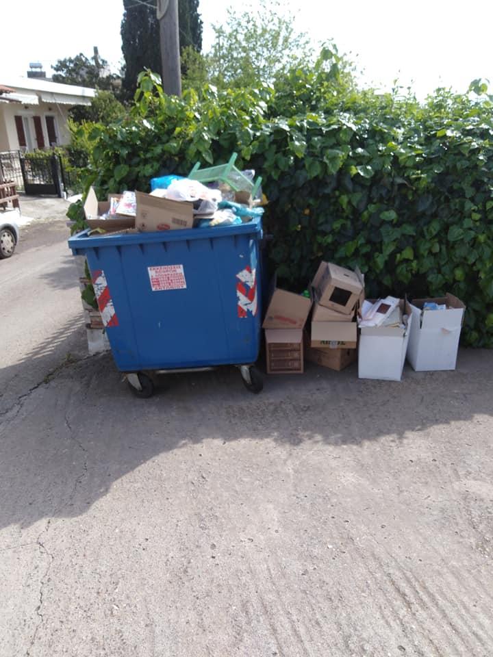 Τριάδα:Κάτοικοι παραπονιούνται για αμάζευτα σκουπίδια (φωτό) 2 15