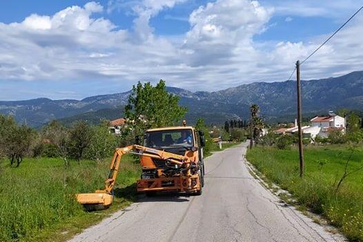 Καθαρισμός δρόμων και παρεμβάσεις στην τοπική κοινότητα Καθενών (φωτό-video)