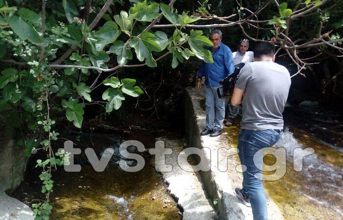 Δηλώσεις Γιώργου Ψαθά για το έργο «Εμπλουτισμός ύδρευσης Ψαχνών-Καστέλλας-Τριάδας» (video)
