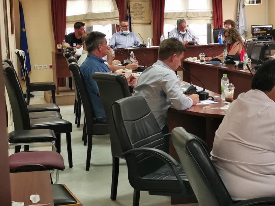 Η «κεκλεισμένων των θυρών» συνεδρίαση του Δημοτικού συμβουλίου του Δήμου Διρφύων Μεσσαπίων (φωτό-video) 98071117 2939551386134016 5914080137351004160 n