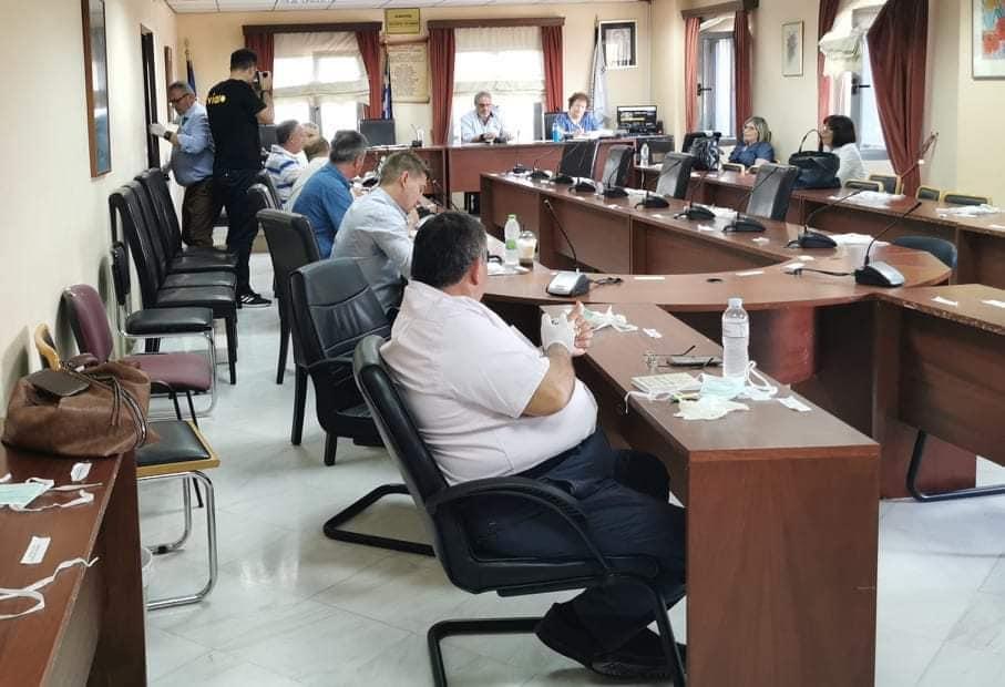 Η «κεκλεισμένων των θυρών» συνεδρίαση του Δημοτικού συμβουλίου του Δήμου Διρφύων Μεσσαπίων (φωτό-video) 99115326 2939550986134056 5189913191995408384 n