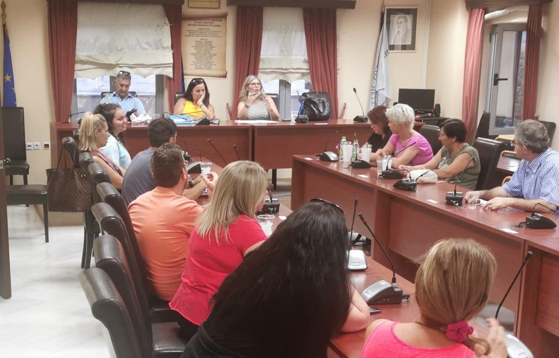 Πραγματοποιήθηκε η πρώτη συνάντηση για την δημιουργία εθελοντικής ομάδας πρώτων βοηθειών στο Δημαρχείο των Ψαχνών 116249579 651075422433788 3763998626419595897 n