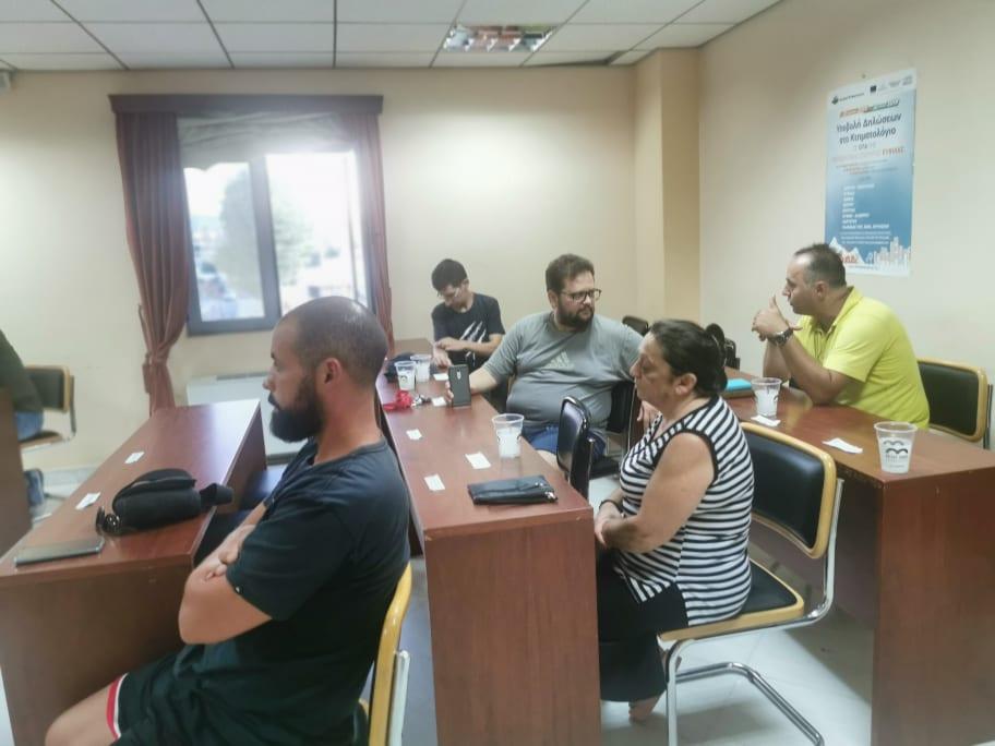 Πραγματοποιήθηκε η πρώτη συνάντηση για την δημιουργία εθελοντικής ομάδας πρώτων βοηθειών στο Δημαρχείο των Ψαχνών 116336386 296439668141008 5903227391250083454 n