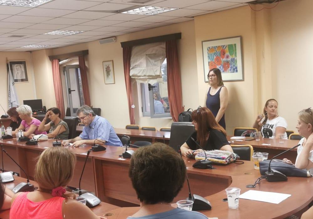 Πραγματοποιήθηκε η πρώτη συνάντηση για την δημιουργία εθελοντικής ομάδας πρώτων βοηθειών στο Δημαρχείο των Ψαχνών 116465840 316225859431014 7791789691938532925 n