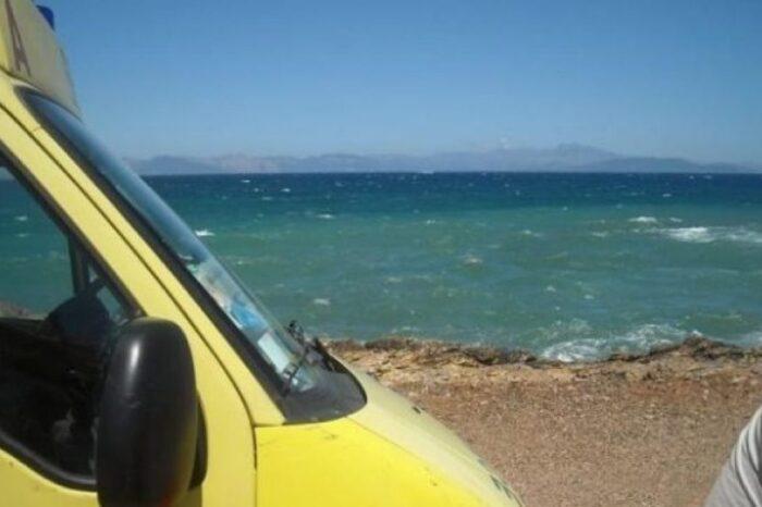 35χρονος νεκρός στην παραλία της Χιλιαδούς
