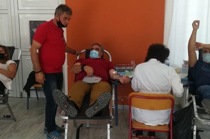 Πραγματοποιήθηκε η 10η Εθελοντική Αιμοδοσία της Τράπεζας Αίματος του Δήμου Διρφύων - Μεσσαπίων (φωτογραφίες)