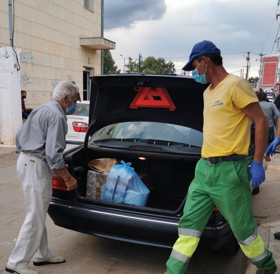 Ανθρωπιστική βοήθεια στους πληγέντες του Δήμου Διρφύων Μεσσαπίων από τον Σίμο Κεδίκογλου και από Προέδρους ΔΗΜΤΟ Ευβοίας (φωτό-video) 120974839 829490791128792 4859542807111861643 n
