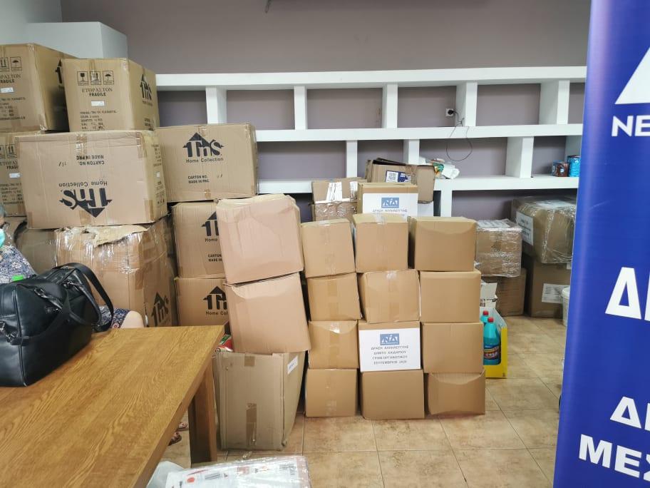 Ανθρωπιστική βοήθεια στους πληγέντες του Δήμου Διρφύων Μεσσαπίων από τον Σίμο Κεδίκογλου και από Προέδρους ΔΗΜΤΟ Ευβοίας (φωτό-video) 121009171 2014786491990509 7928514832280870679 n