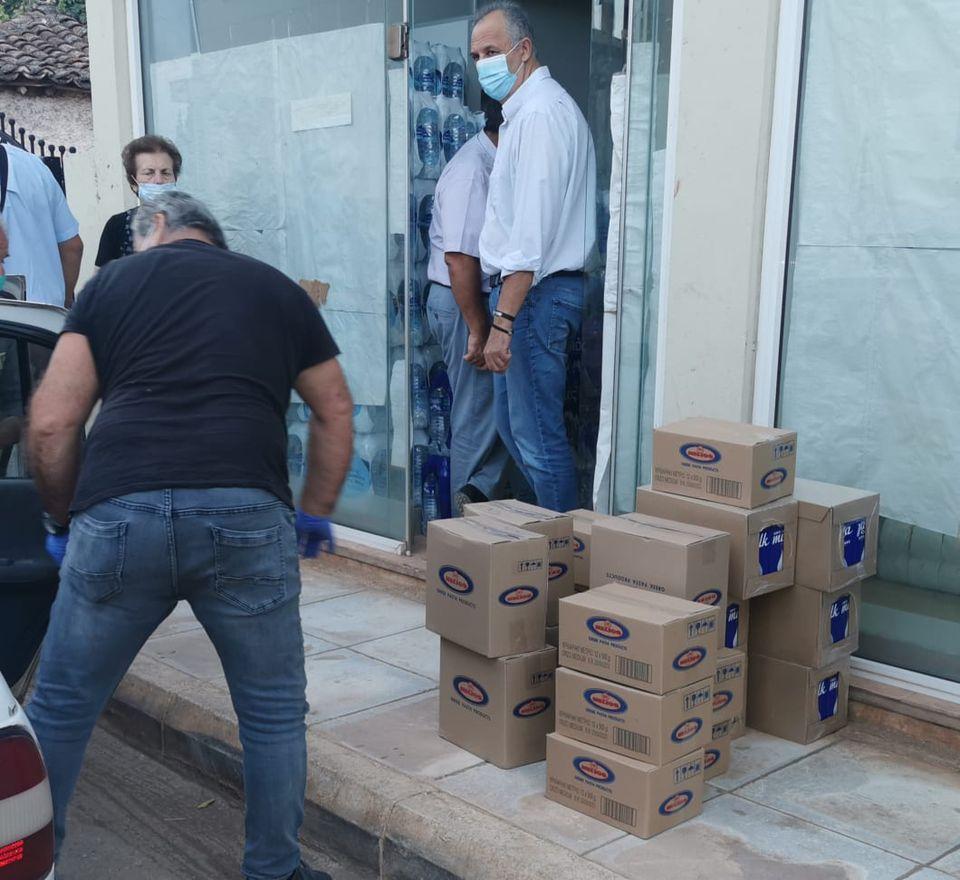 Ανθρωπιστική βοήθεια στους πληγέντες του Δήμου Διρφύων Μεσσαπίων από τον Σίμο Κεδίκογλου και από Προέδρους ΔΗΜΤΟ Ευβοίας (φωτό-video) 121085642 378133506893569 2553986809693180790 n