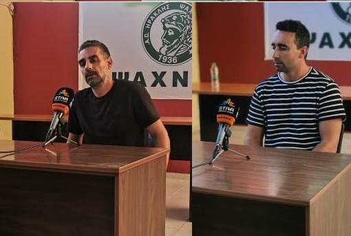 Δηλώσεις προπονητών Θανάση Μεθενίτη-Στέλιου Αρσένου(video)