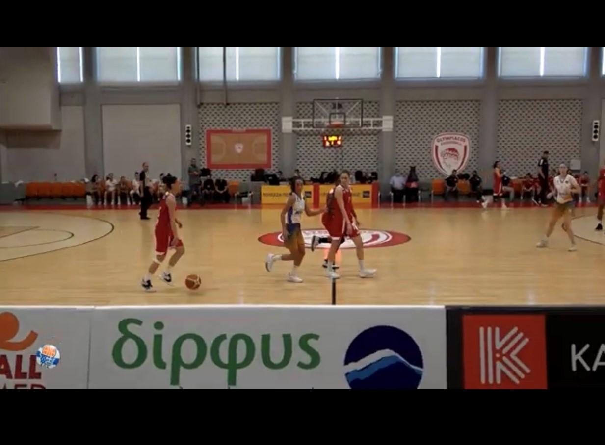 Η Δίρφυς χορηγός της Γυναικείας ομάδας μπάσκετ του Ολυμπιακού για δεύτερη χρονιά Dirfys osfp